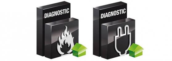 Diagnostics électricité et gaz pour la location